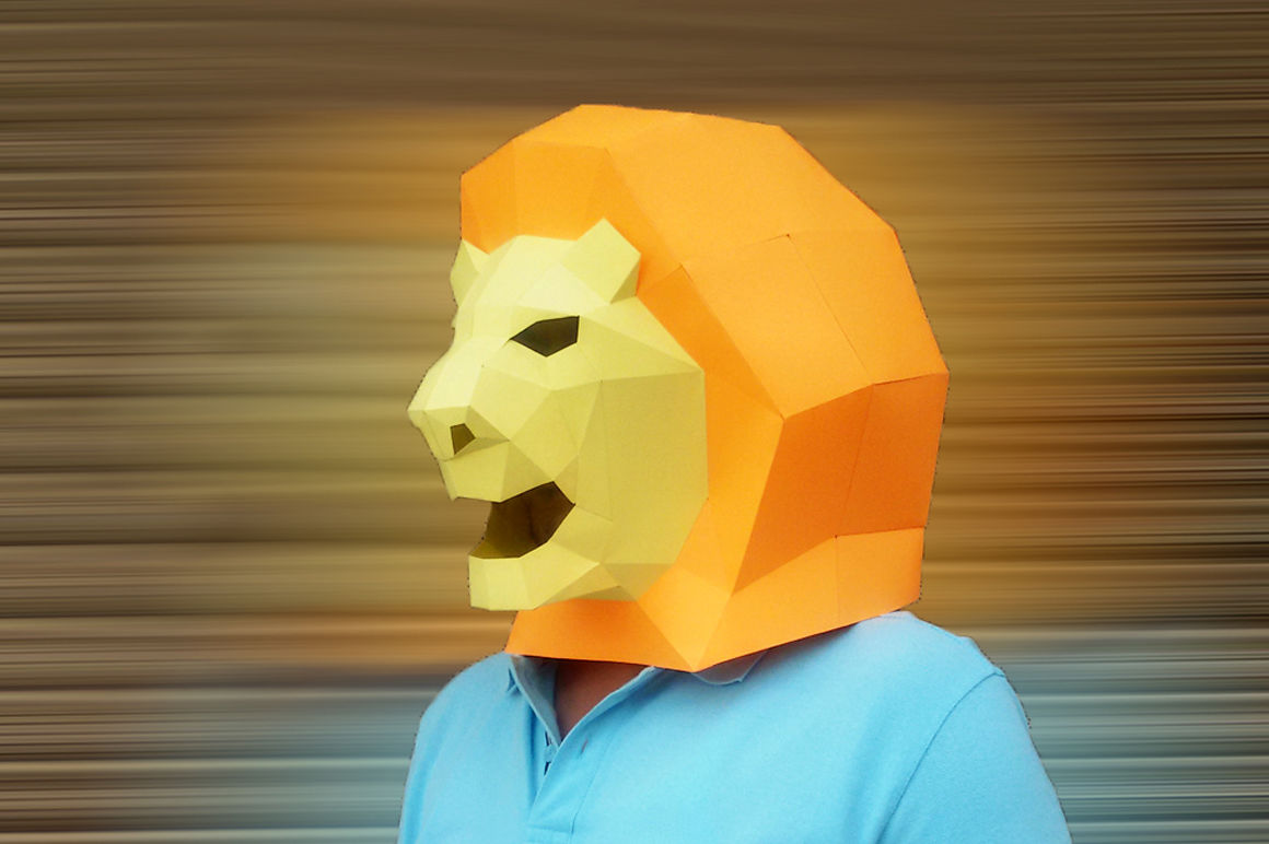 photograph about Lion Mask Printable called Do it yourself Lion Mask (Printable) As a result of PAPER amaze