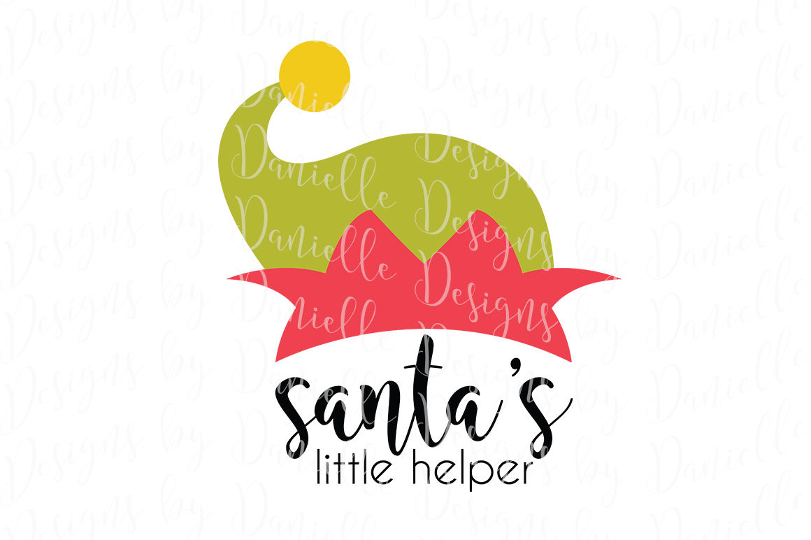Santa S Little Helper Christmas Svg Cutting File By Designs By Danielle Thehungryjpeg Com