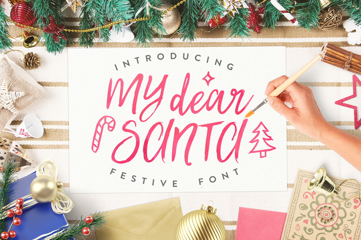 Best Christmas Font Bonus Updated By Eskimo Family