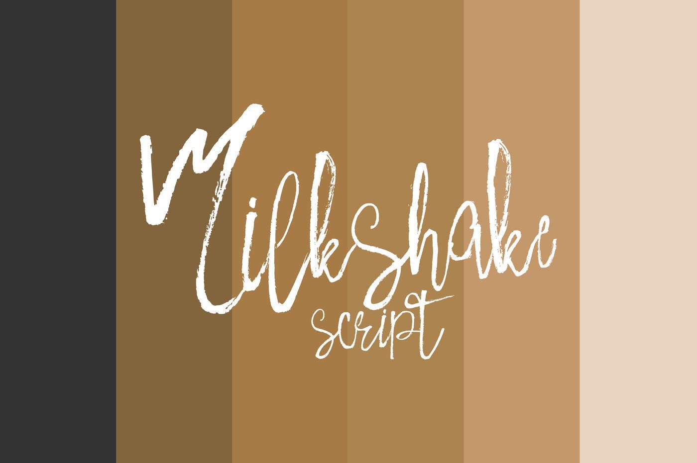 Milkshake Script By Yasir Ekinci Thehungryjpeg Com