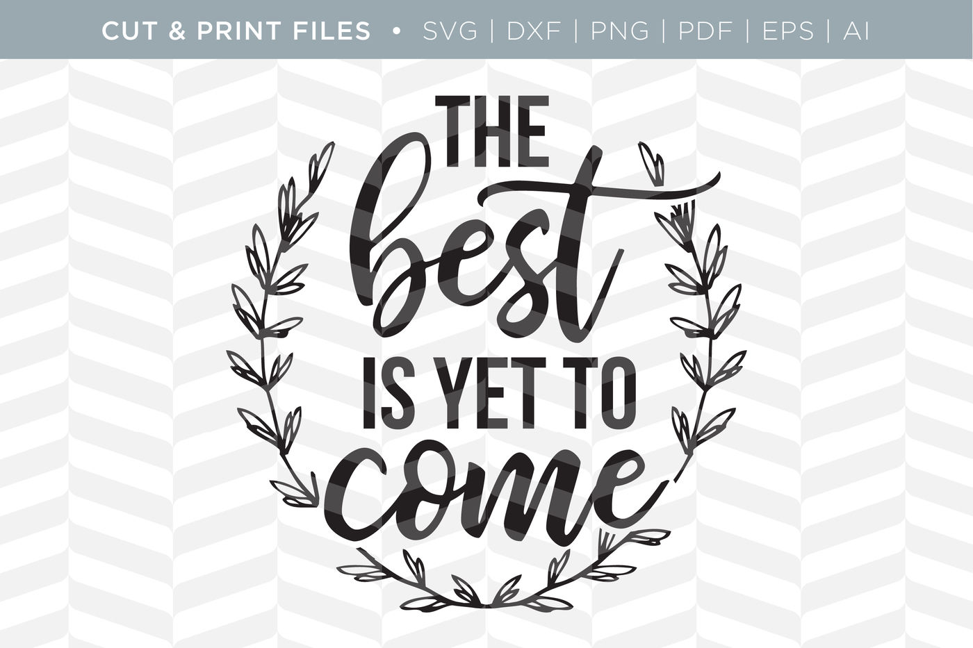 Get Worth The Wait – Dxf/Svg/Png/Pdf Cut & Print Files SVG