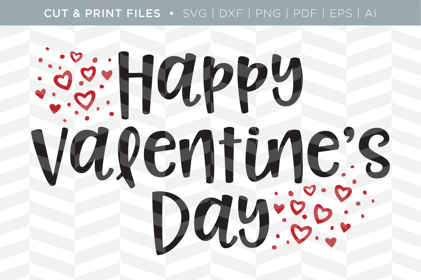 Happy Valentine S Day Dxf Svg Png Pdf Cut Print Files By
