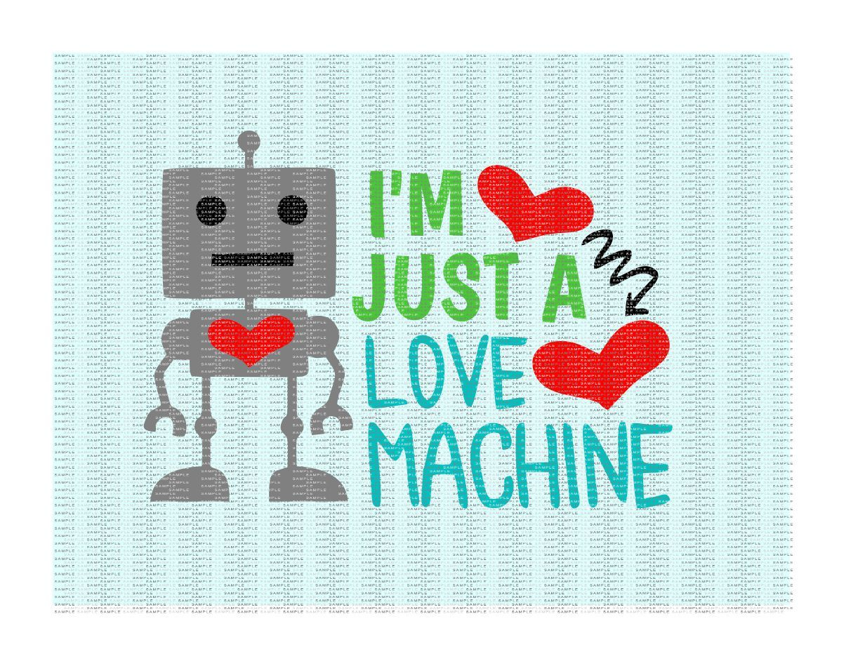 I M Just A Love Machine Cutting Printing Files By Cut It Up Y All Thehungryjpeg Com