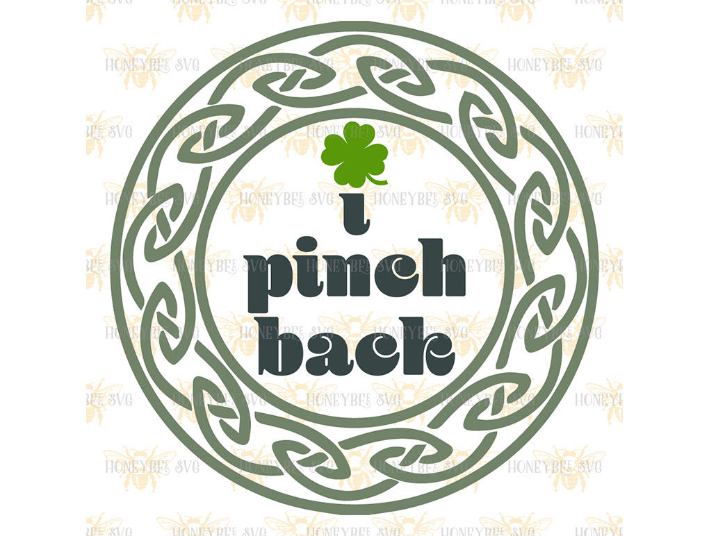 I Pinch Back By Honeybee Svg Thehungryjpeg Com