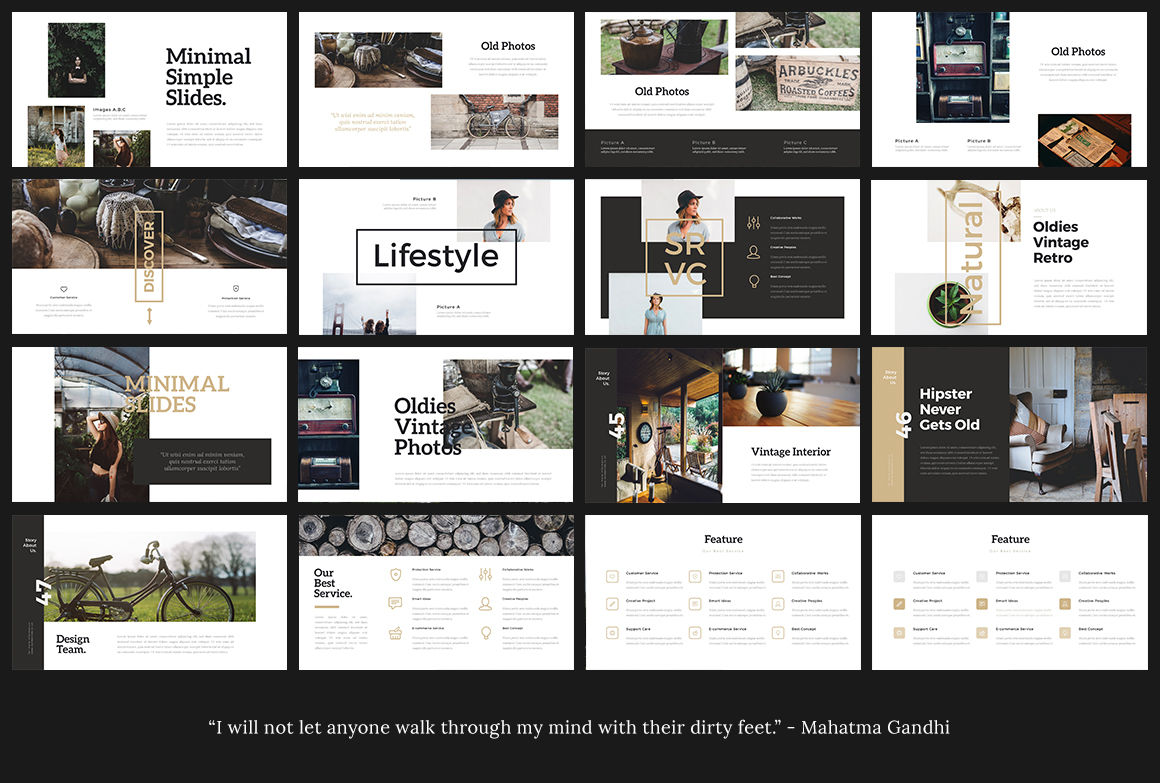 Vinsco Powerpoint Template By Templabs Thehungryjpeg Com