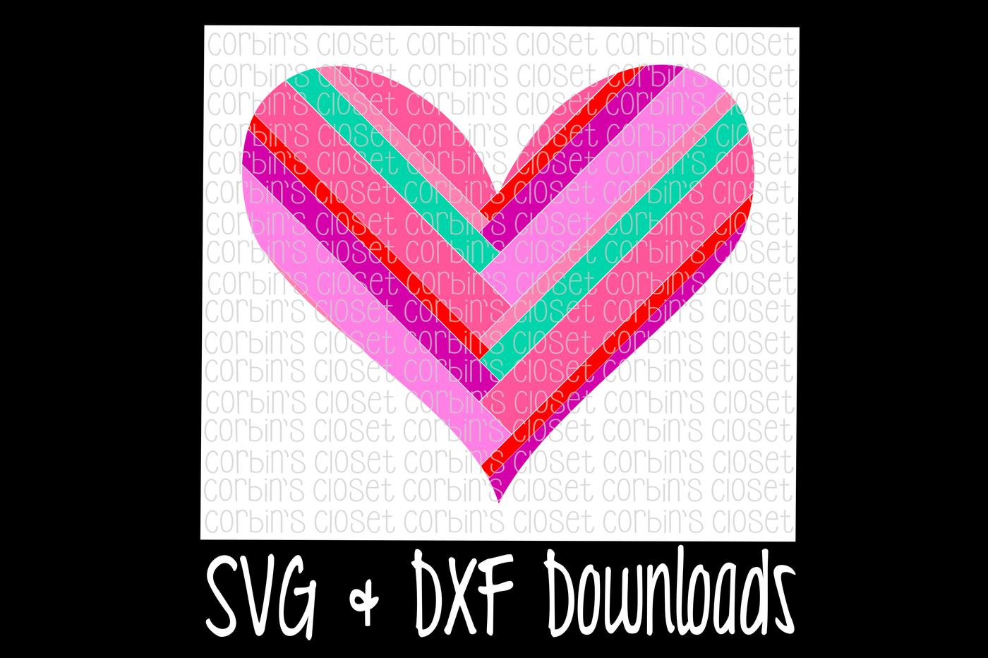 Heart Svg Heart Cut File By Corbins Svg Thehungryjpeg Com