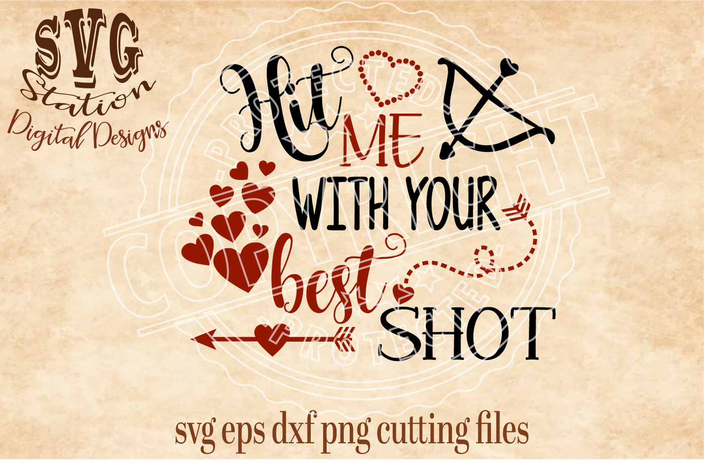 Hit Me With Your Best Shot Svg Dxf Png Eps Cutting File For
