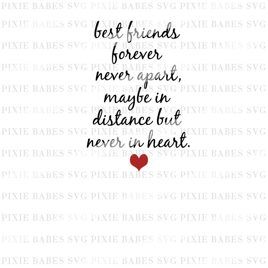 Best Friends Forever By Pixie Babes Svg Thehungryjpeg Com