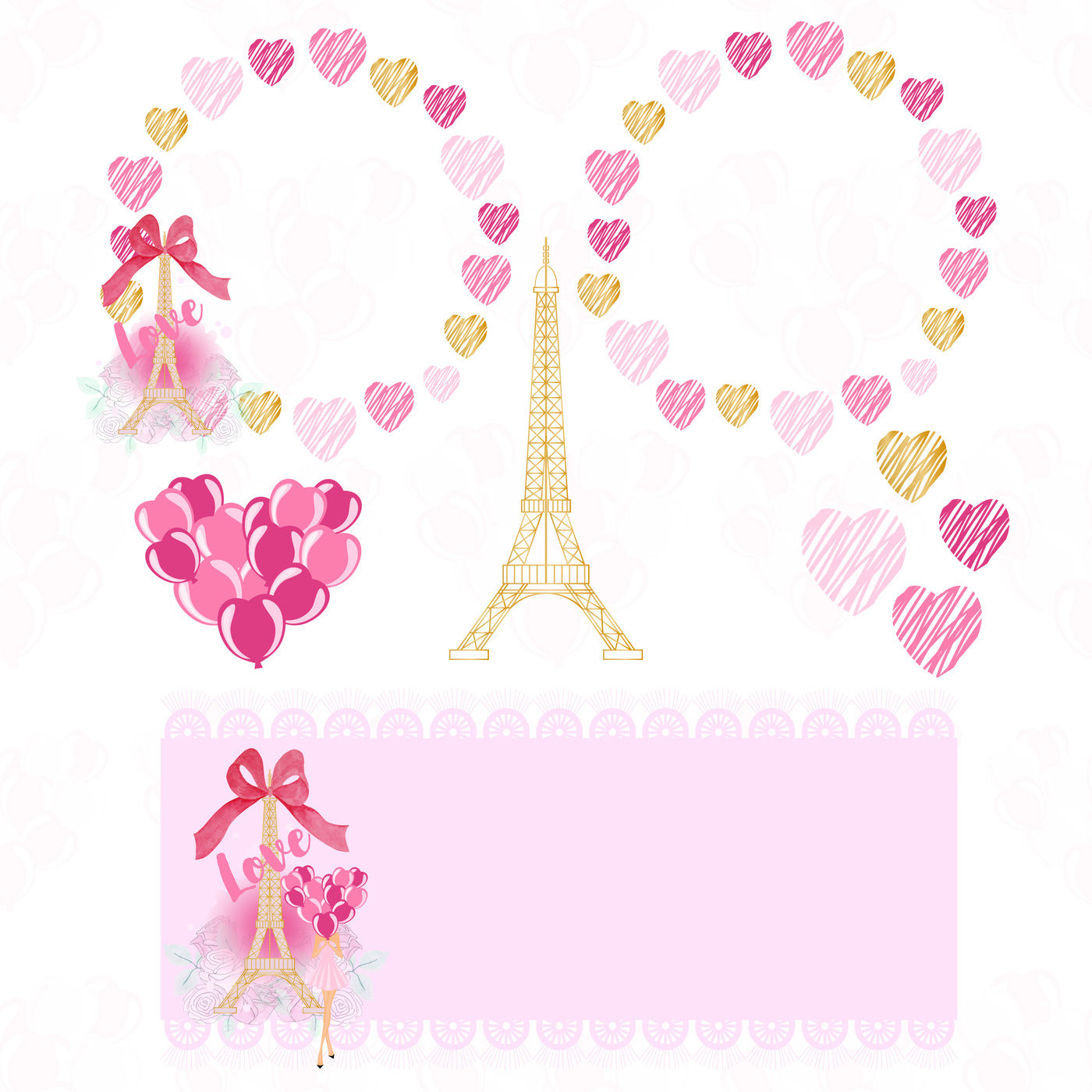 Love In Paris Clipart Png By Annakristal Thehungryjpeg Com