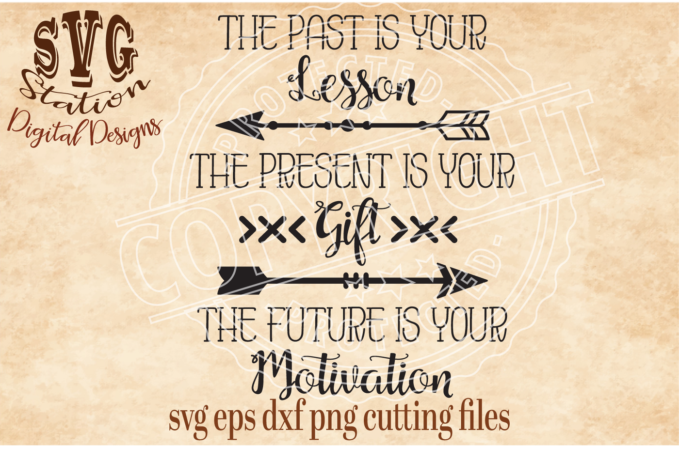 The Past Is Your Lesson The Present Is Your Gift The Future Is You