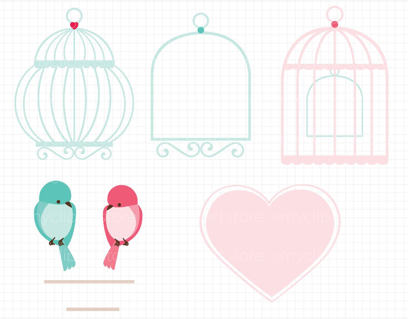 Love Is Tweet Love Birds Vector Clipart By Myclipartstore