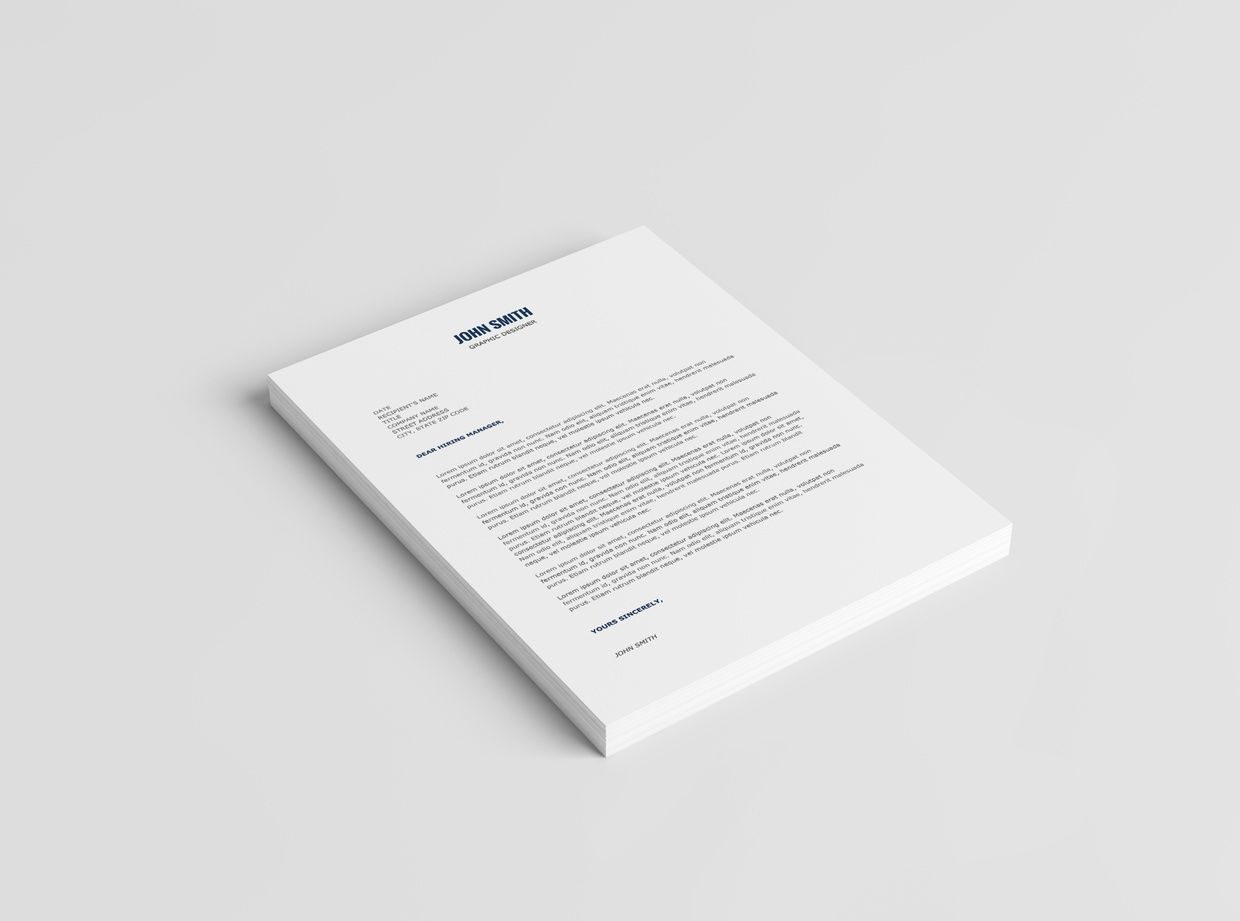 Minimalist Resume Template + Cover Letter Template | 2016 ...