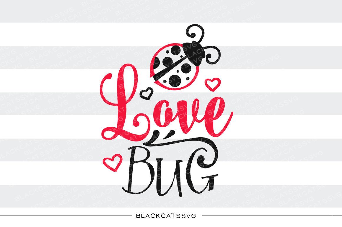 Love Bug Ladybug Svg By Blackcatssvg Thehungryjpeg Com