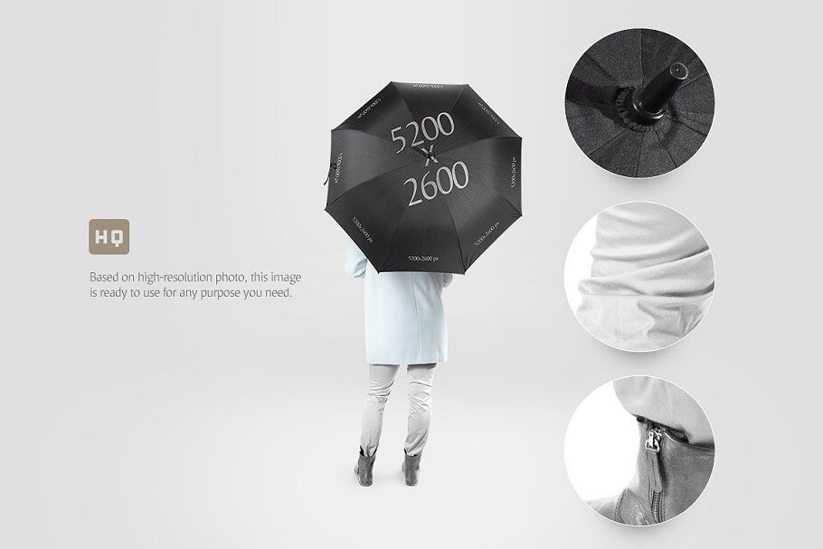 Free Umbrella Mockup Psd