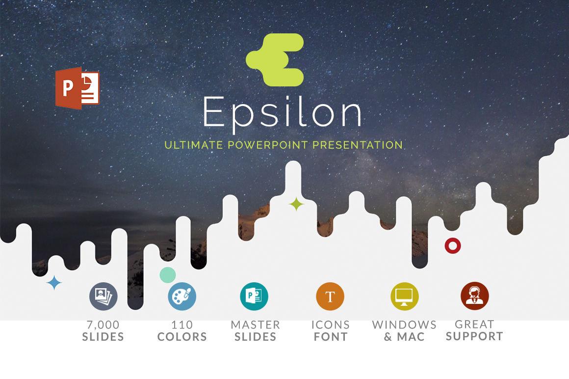 Epsilon Powerpoint Presentation Template By Zacomic Studios