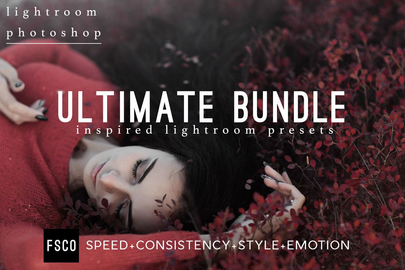 Ultimate Bundle Lightroom Presets Photoshop Acr Filters By
