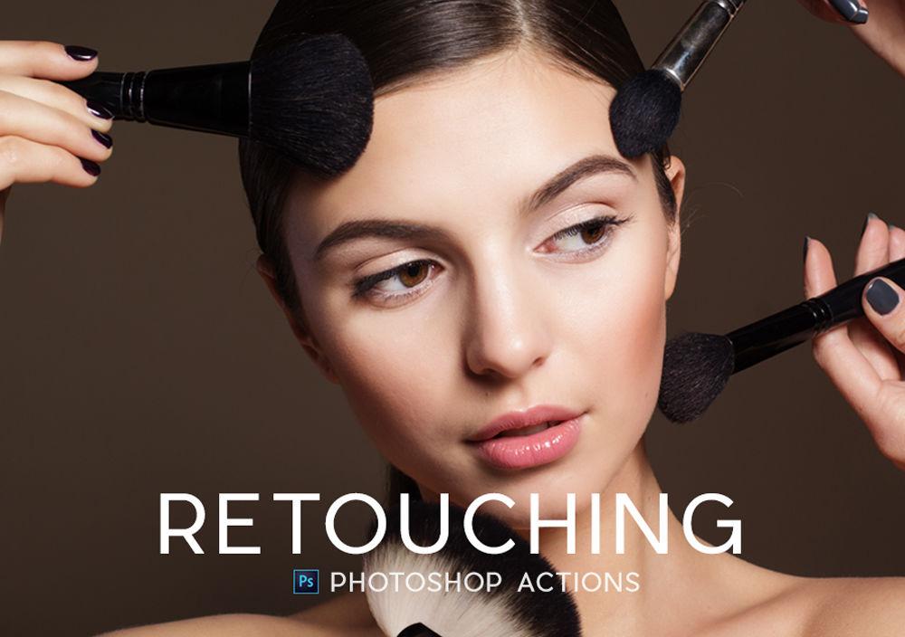30 Professional Portrait Retouching Photoshop Actions Professional