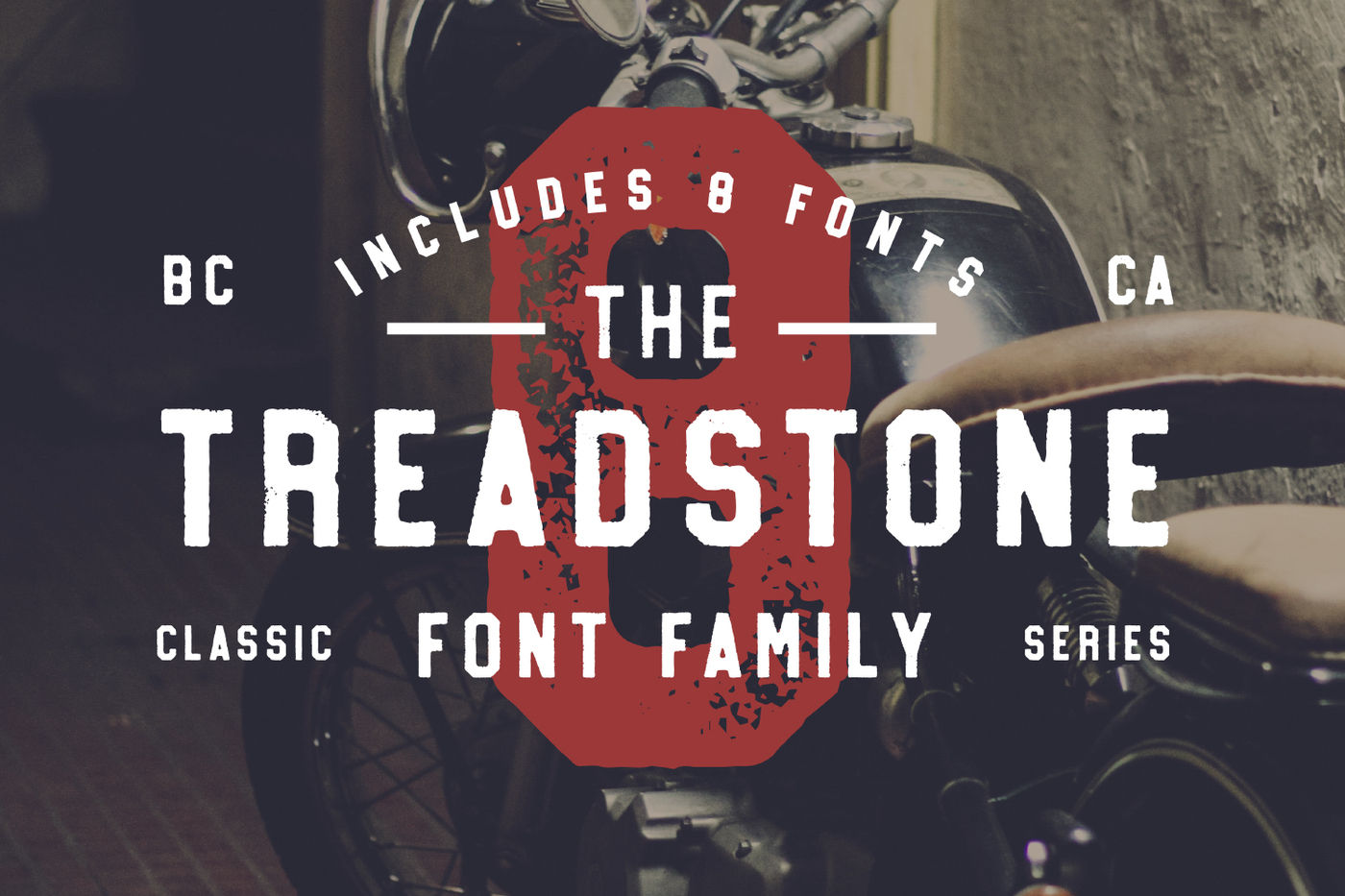 Treadstone 8 Font Family By Rook Design Supply Thehungryjpeg Com