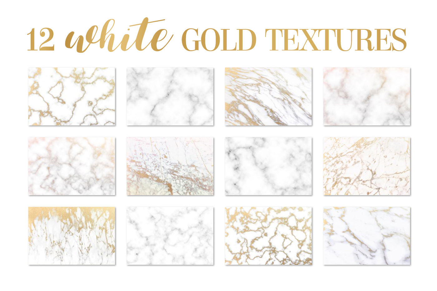 White gold marble texture background pattern styles By
