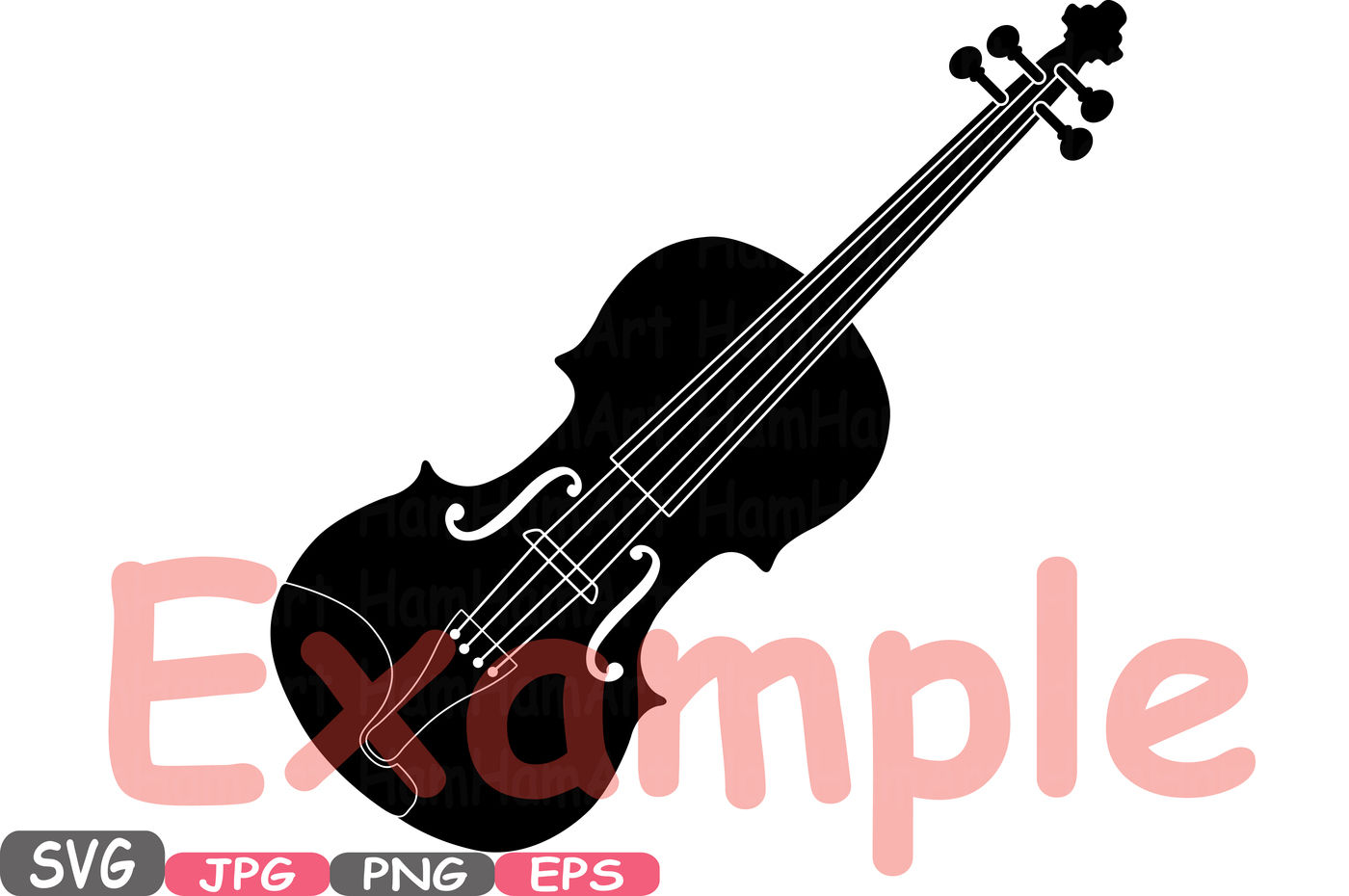 Music Instruments Silhouette SVG Music note SVG Printable Clipart