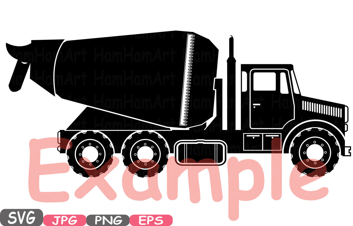Construction Machines Silhouette Svg File Cutting Files Toy Toys