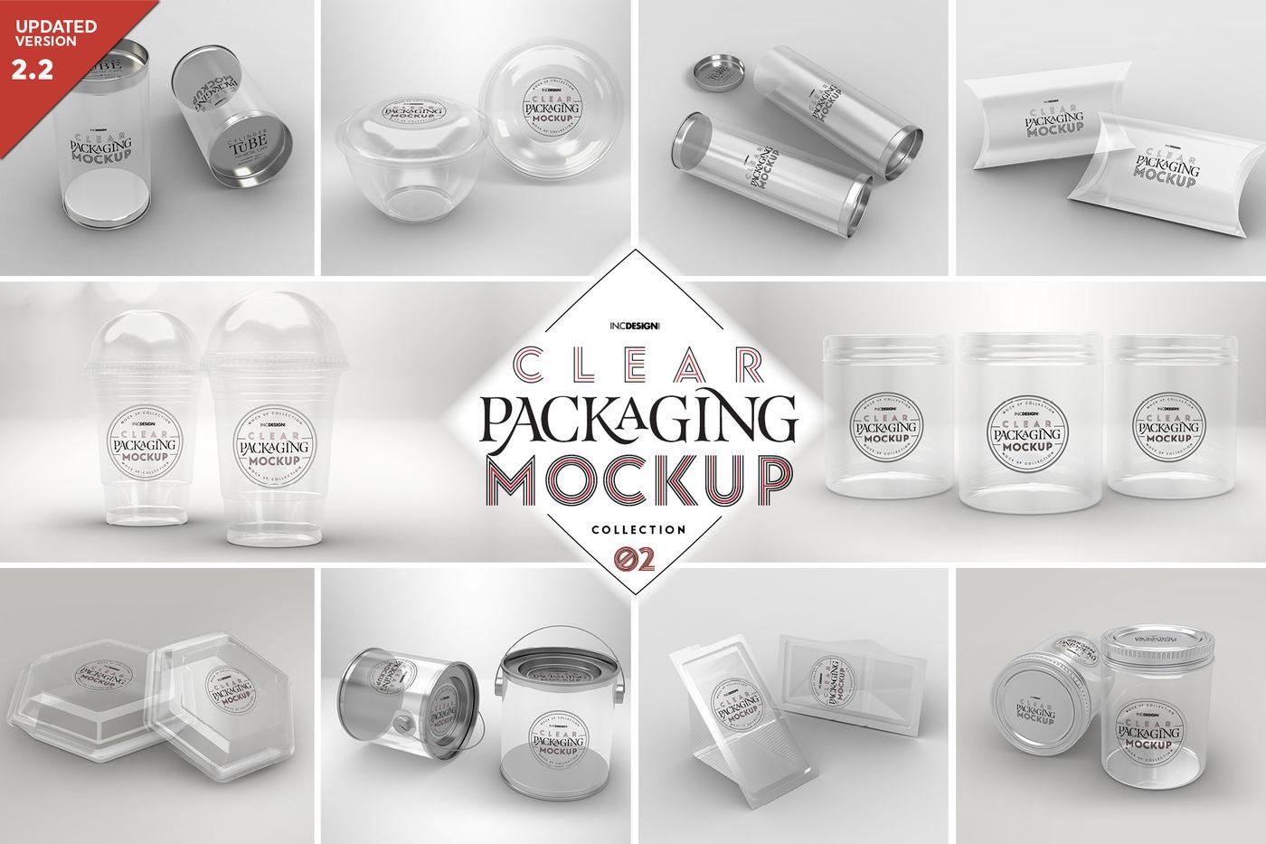 Clear Glass Pharmacy Bottle Mockup