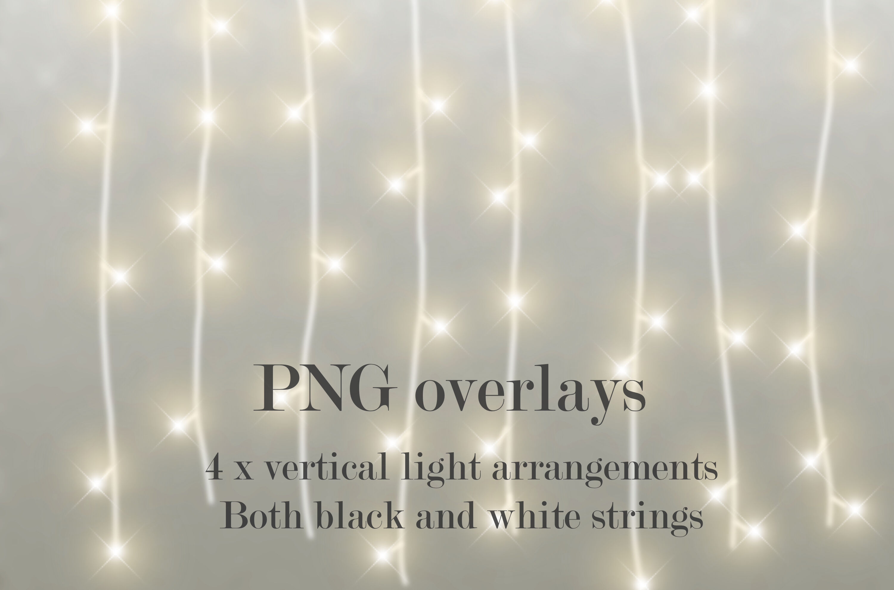 Christmas Lights Overlay Png.Christmas Lights By Paper Farms Thehungryjpeg Com