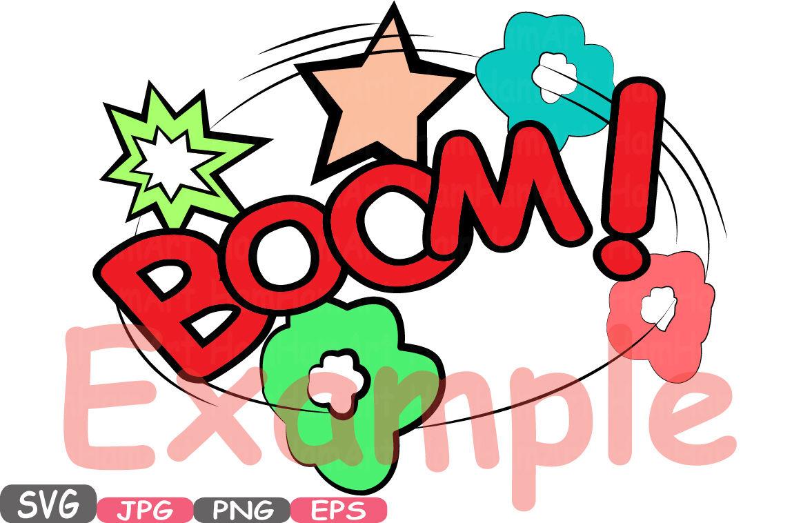 Download Superheroes Pop Art Text Props Super Hero Comic Speech Bubble Clipart Party Bunting Cutting Files Digital Svg Eps Png Jpg Vinyl Sale -434S SVG