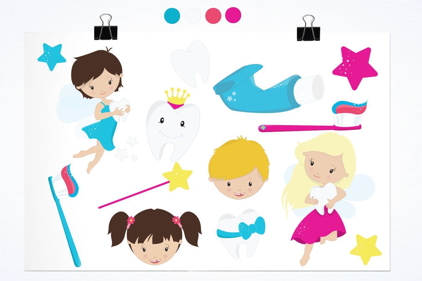 Tooth Fairy Clipart graphics and illustrations By ... (1400 x 932 Pixel)