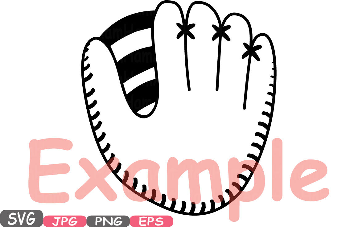 Baseball Svg Mascot Cutting Files Svg Baseball Clipart Silhouette