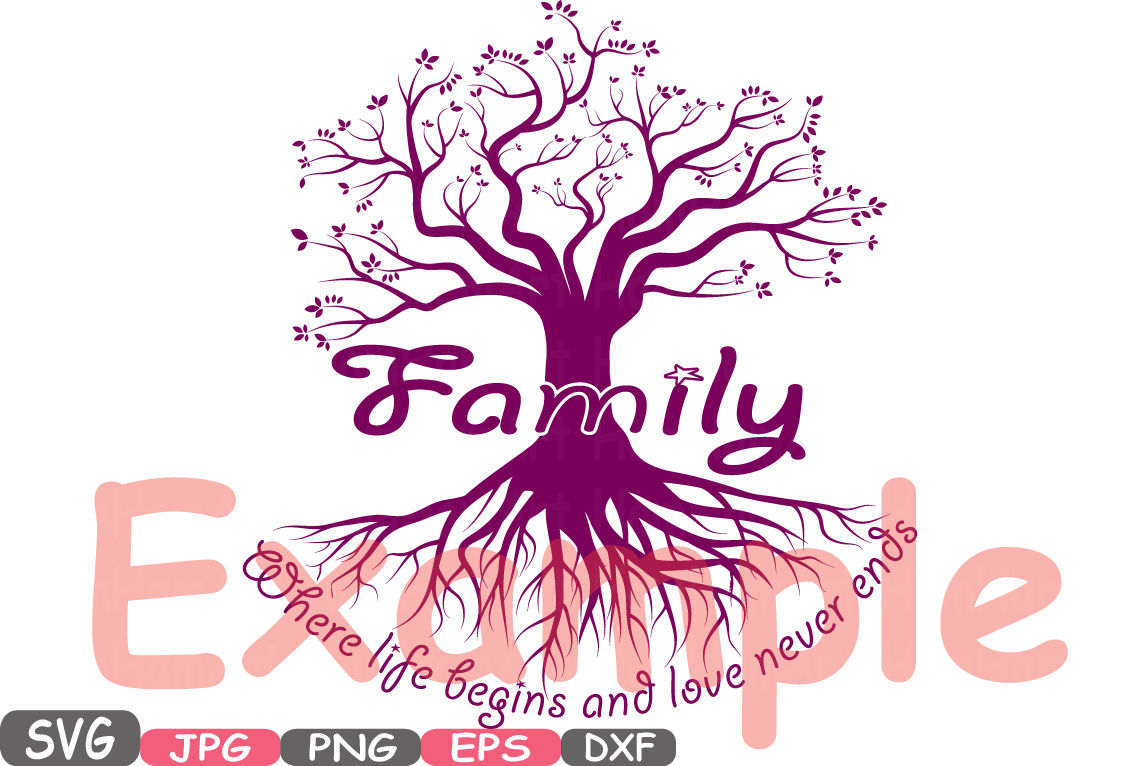 Family Svg Word Art Family Quote Clip Art Silhouette Family Is