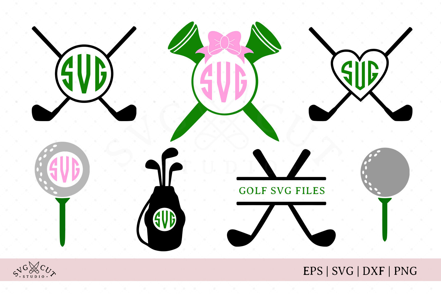 Golf Svg Files By Svg Cut Studio Thehungryjpeg Com