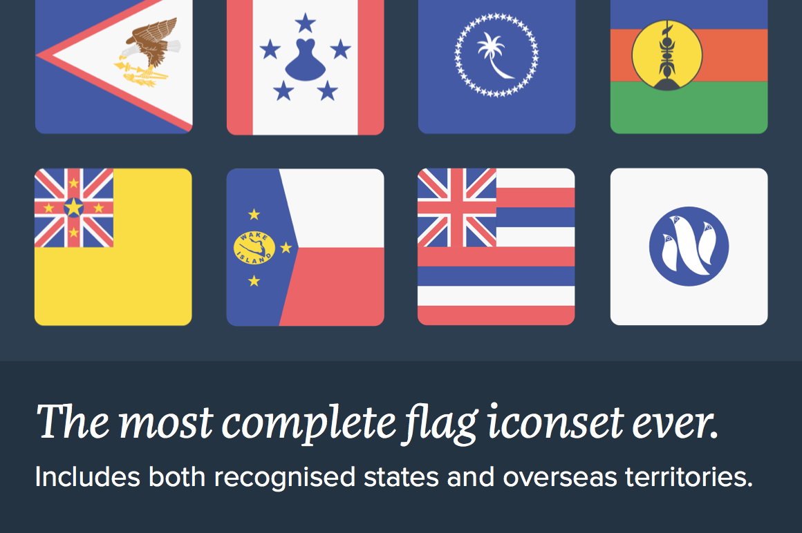 The Flags Of Oceania By Inktrap Thehungryjpeg Com