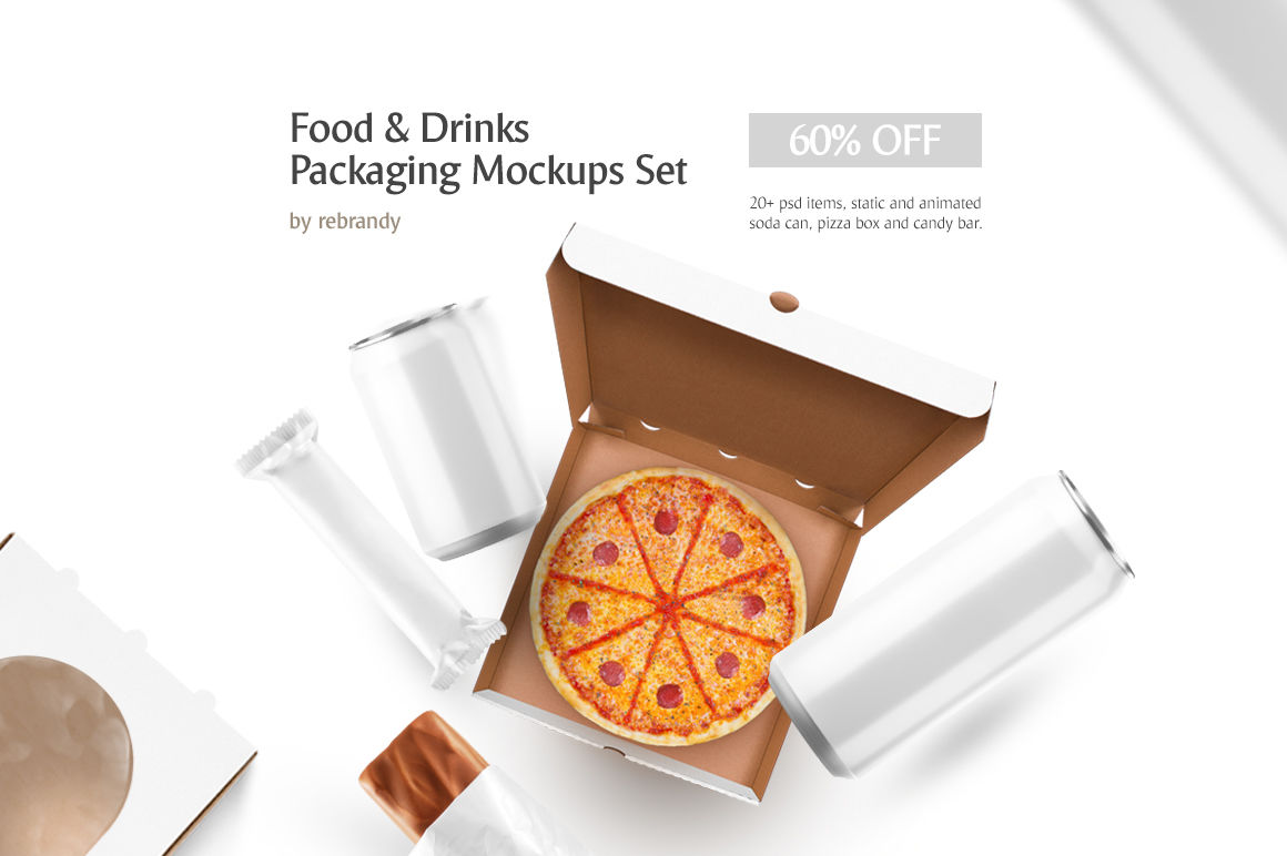 Download Kraft Box Matte Sachet Mockup Yellowimages