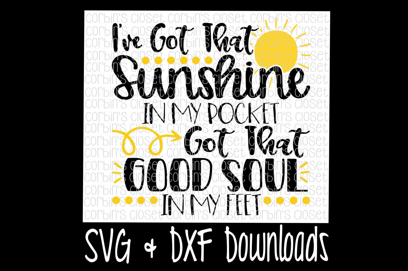Sunshine In My Pocket Cut File By Corbins Svg Thehungryjpeg Com