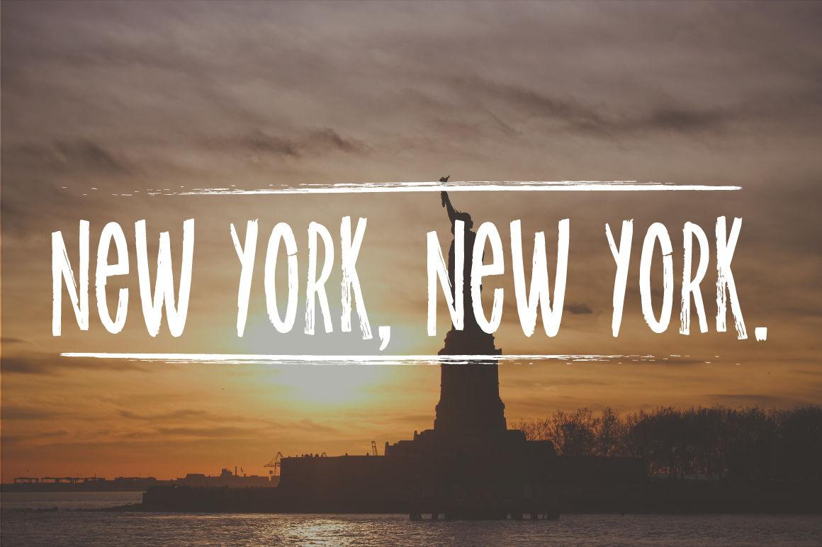 New York font! By Latin Vibes | TheHungryJPEG.com