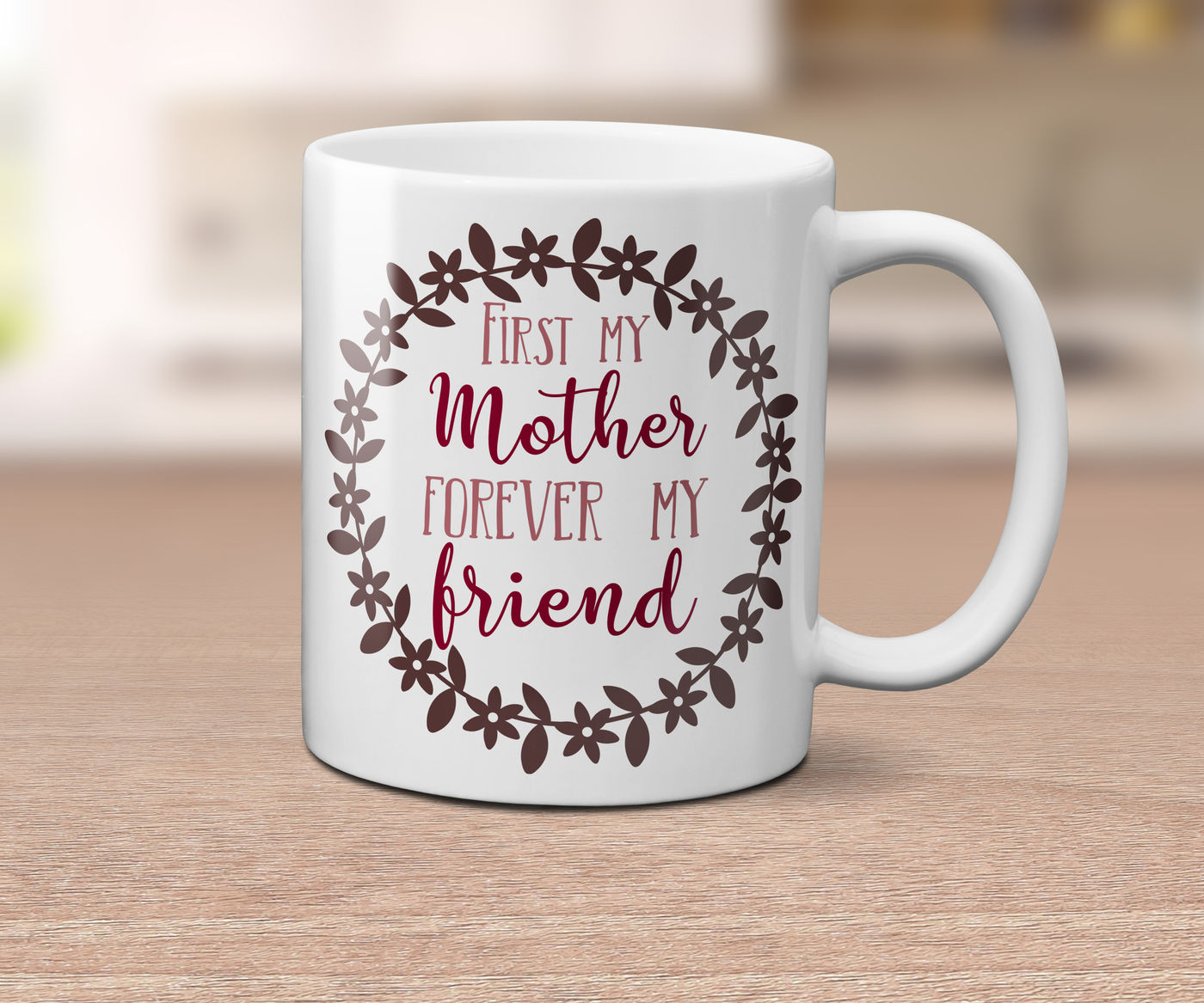 First My Mother Forever My Friend Svg Dxf Eps Png By Esi Designs Thehungryjpeg Com