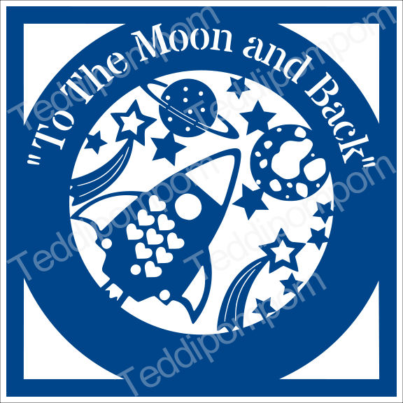 Boys Svg Cutting File To The Moon And Back Outer Space Svg Cricut