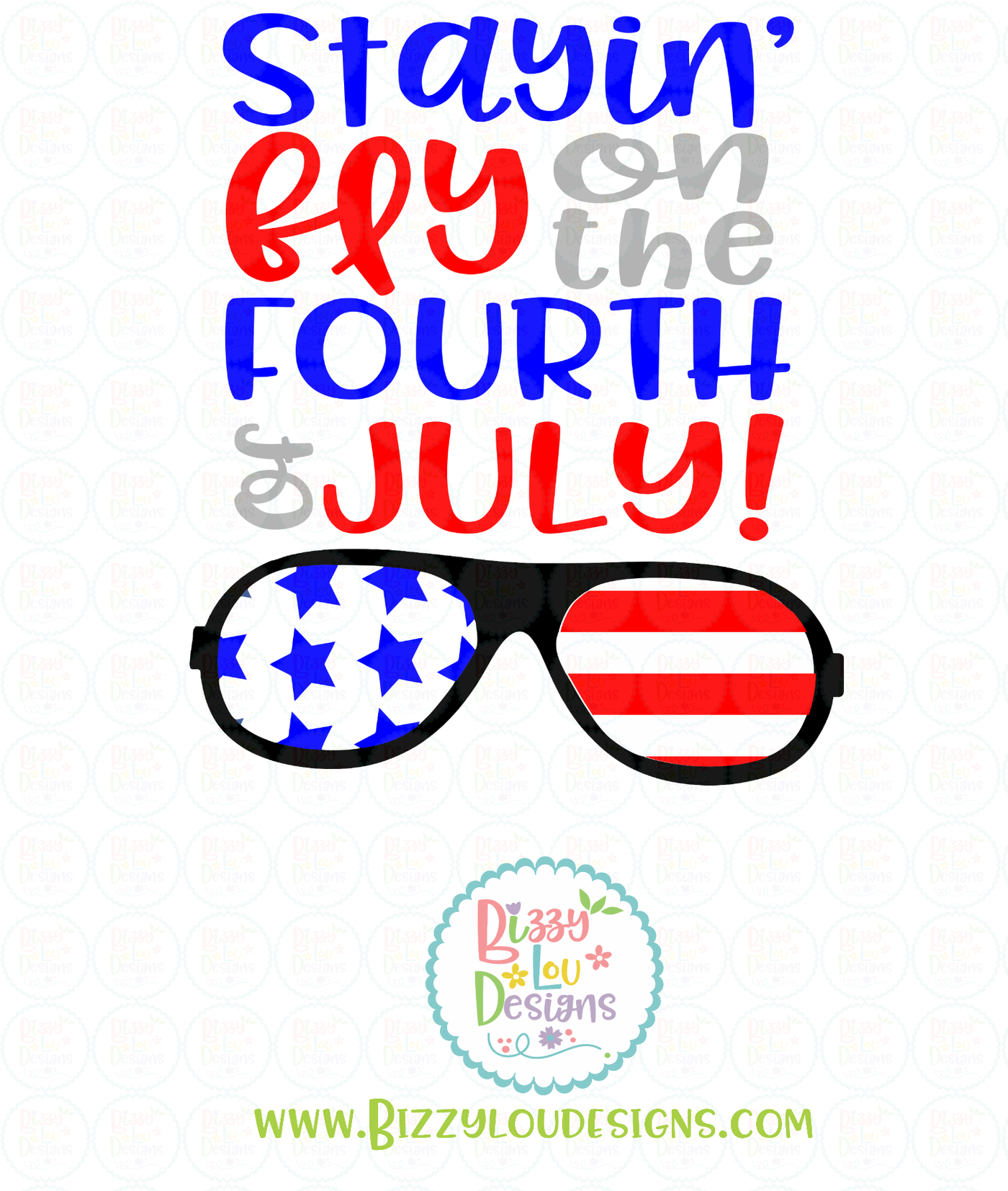 Stayin Fly On The Fourth Of July Svg Eps Dxf Png File By Bizzy