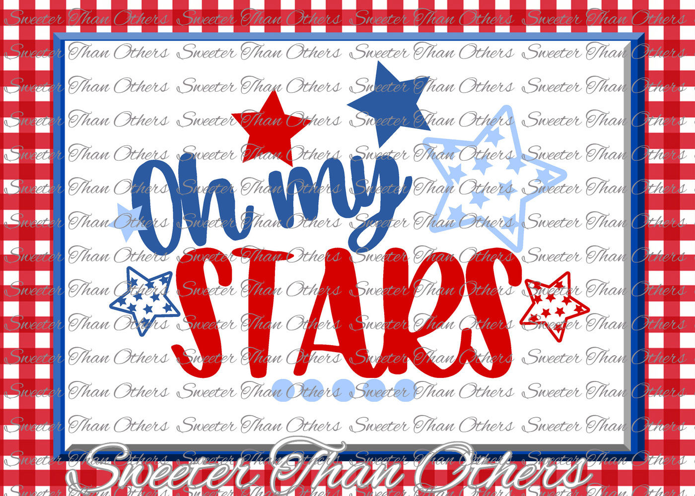 Oh My Stars Svg Fourth Little Miss 4th Of July Cut File Fourth Of
