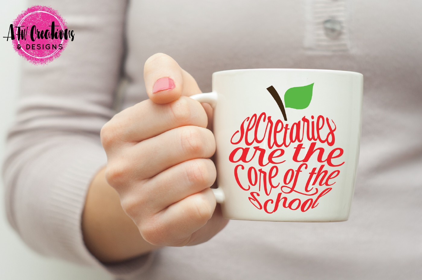 Secretaries Are The Core Apple Svg Dxf Eps Cut File By Afw Designs Thehungryjpeg Com