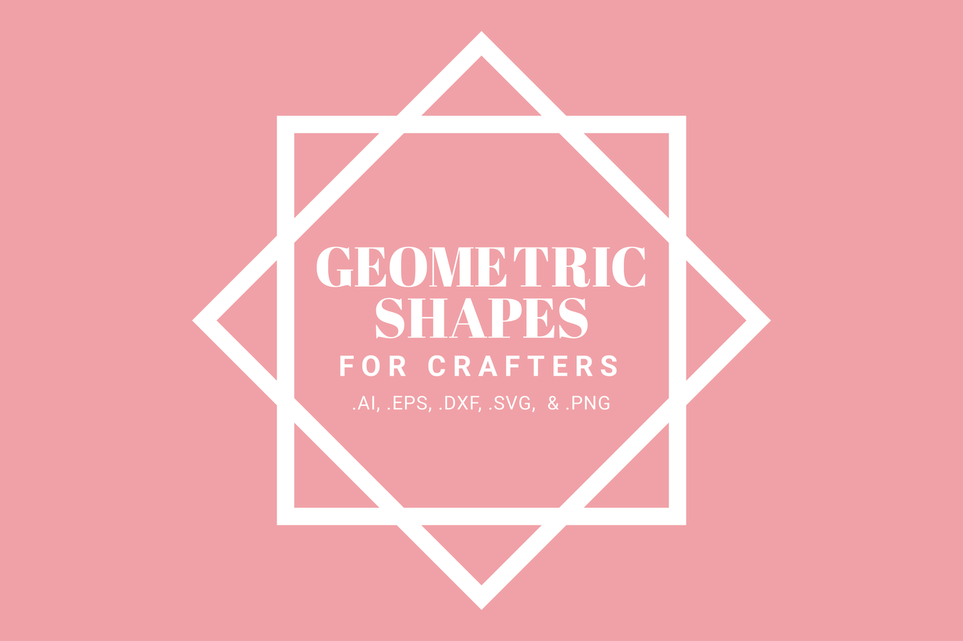 Geometric Shapes For Crafters By Brandi Lea Designs
