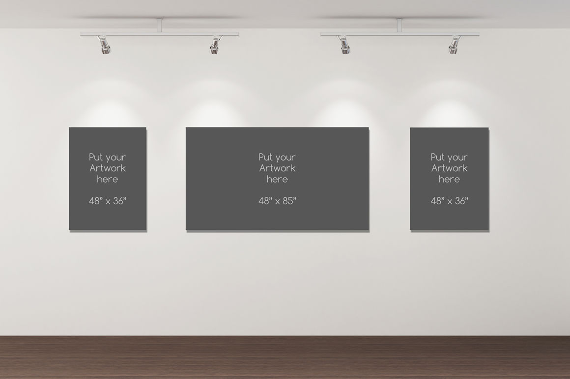 Gallery Mockup Psd Free
