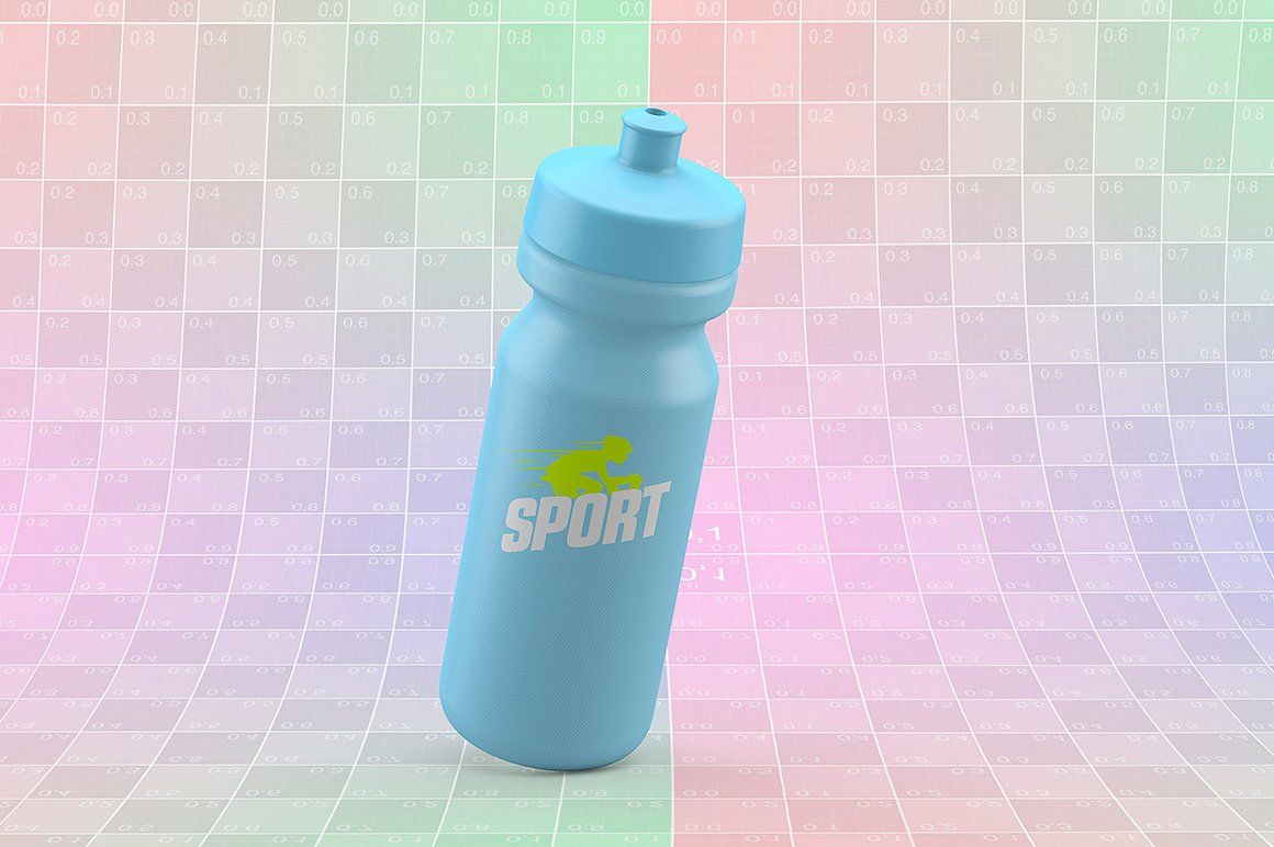 Download Sport Bottle Mockup Yellowimages