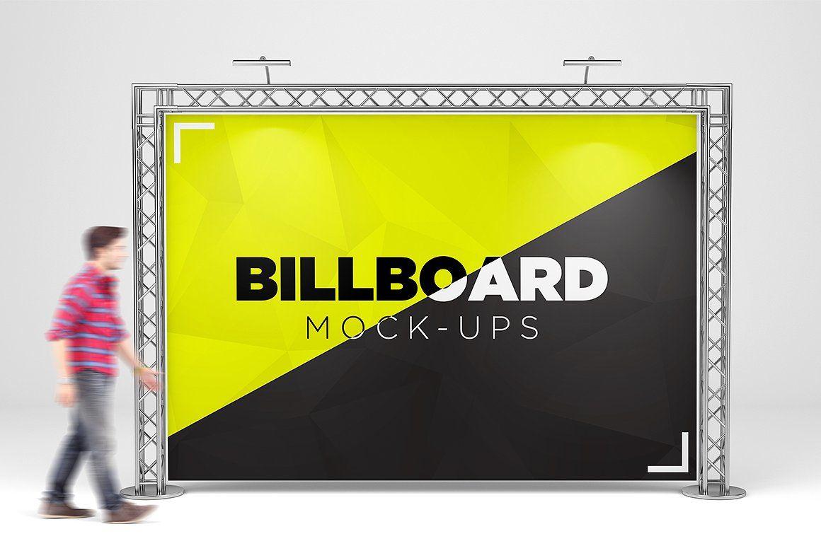 Advertising Board Mockup Psd