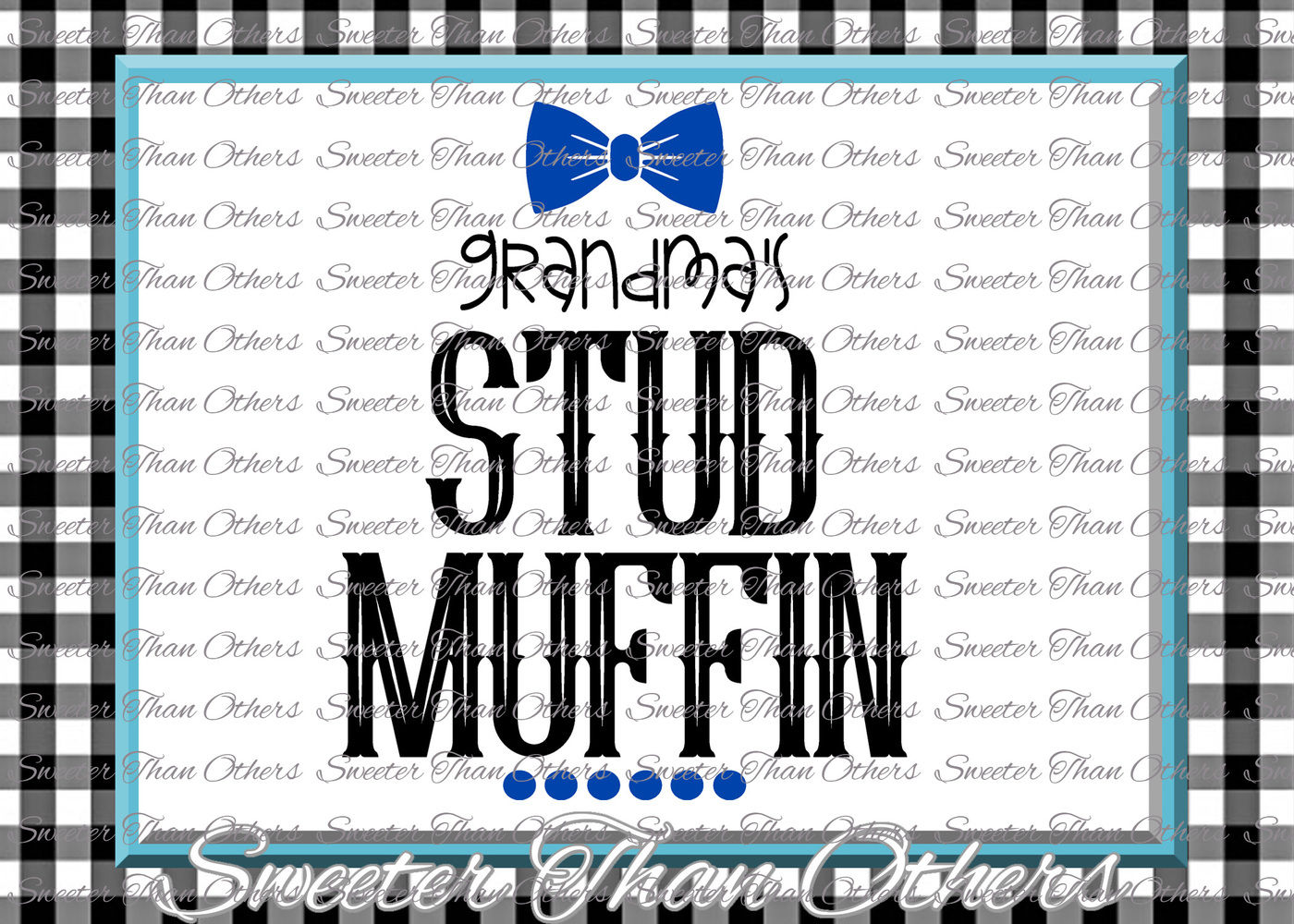 Baby Boy Svg Grandmas Stud Muffin Svg Onesie Cut File Boy Svg