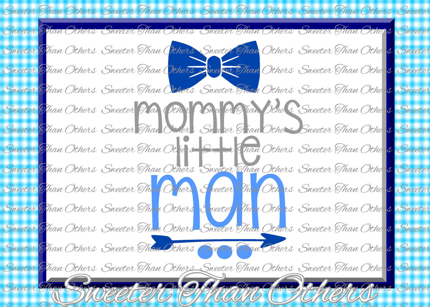 Baby Boy Svg Mommys Little Man Onesie Cut File Boy Svg Baby