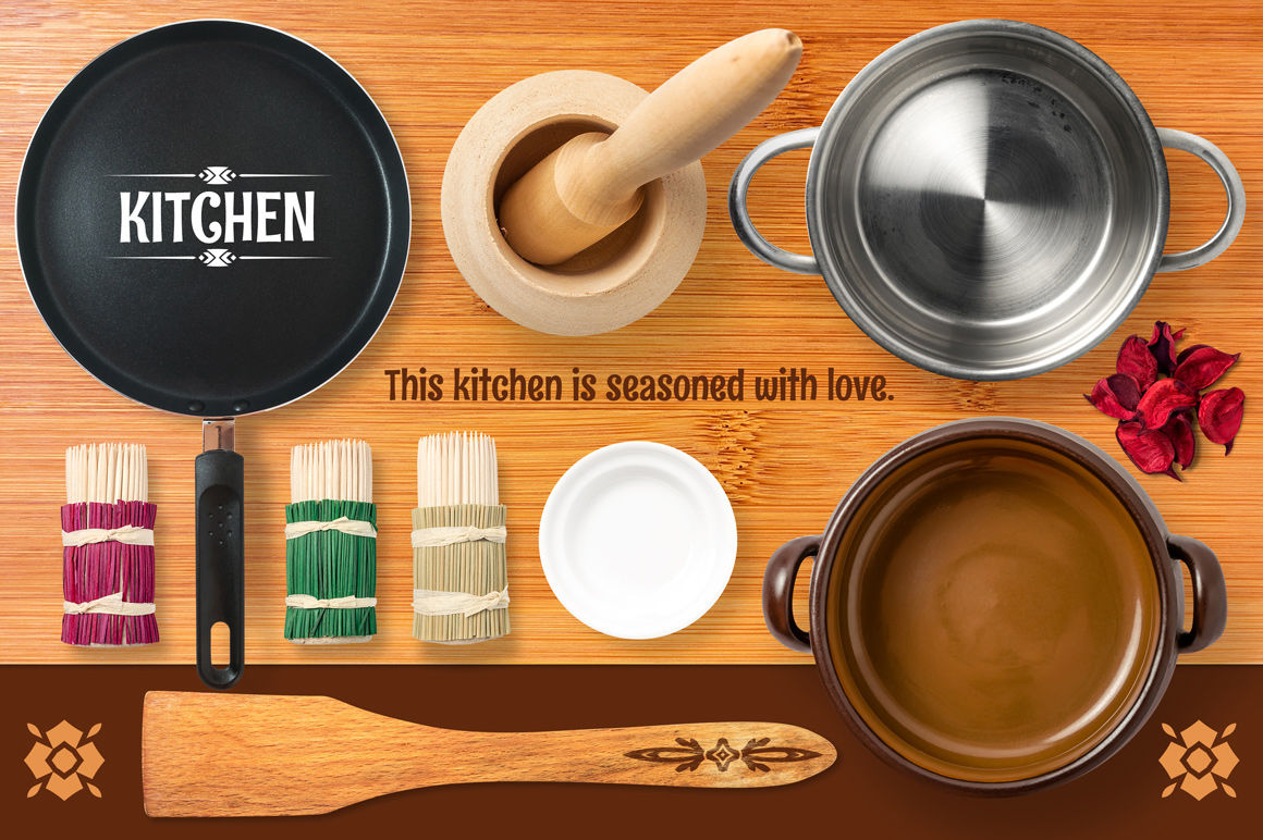Download Plastic Kitchen Ladle Spoon Mockup Yellowimages