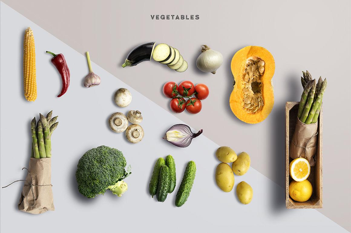 Download Kraft Food Bag With Seasoning Mockup Yellowimages