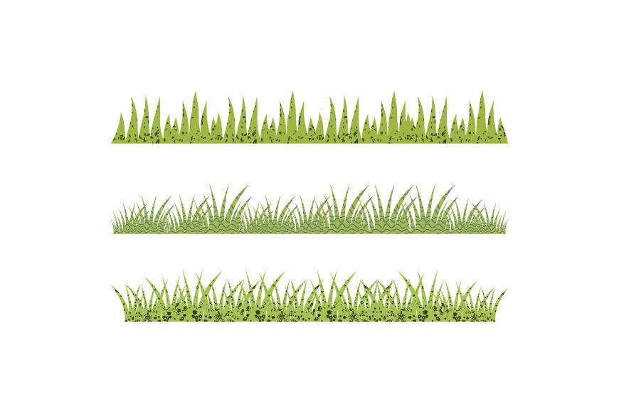 Textured green grass clipart, Spring Easter grass clip art ...